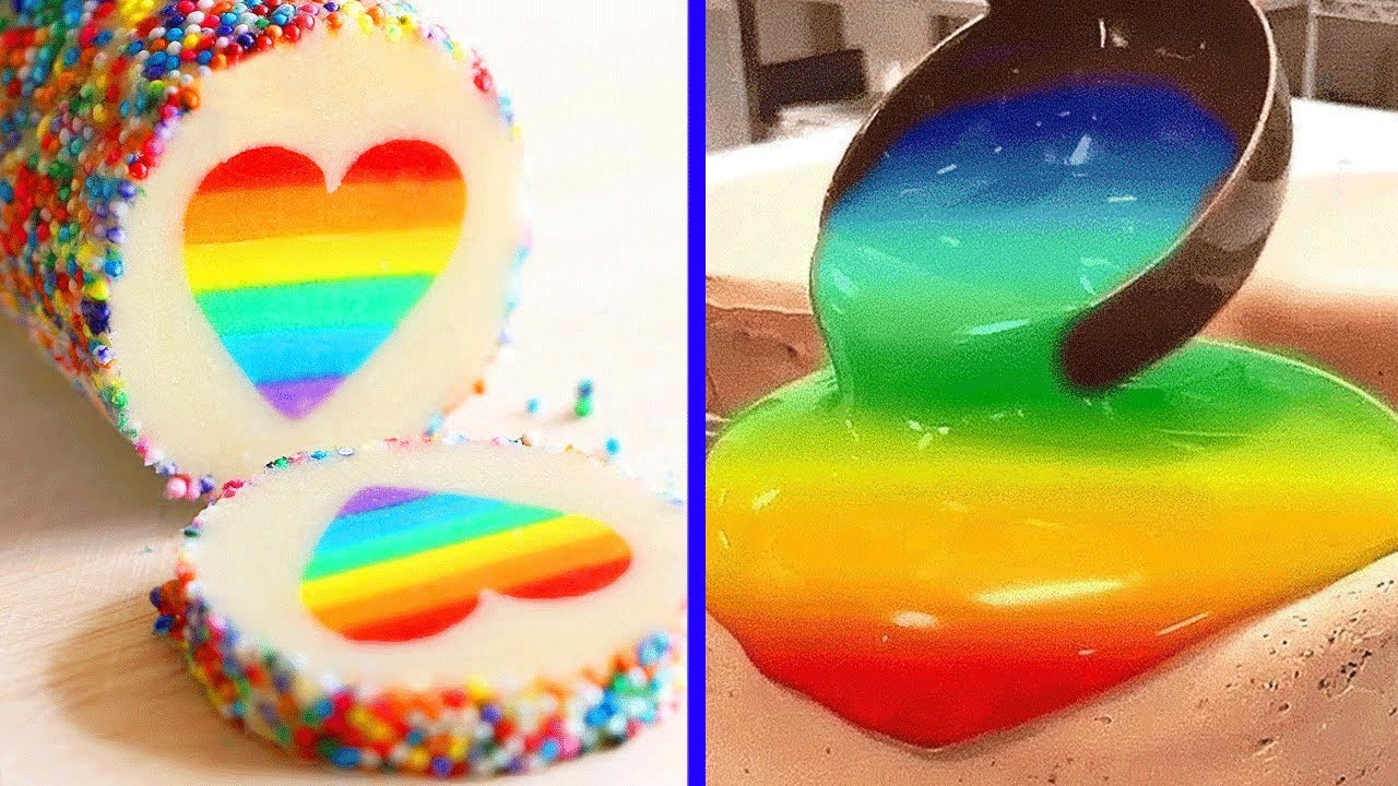 Yummy Rainbow Cake Recipes For Any Occasion | 10+ Quick and Easy Cake Decorating Tutorials