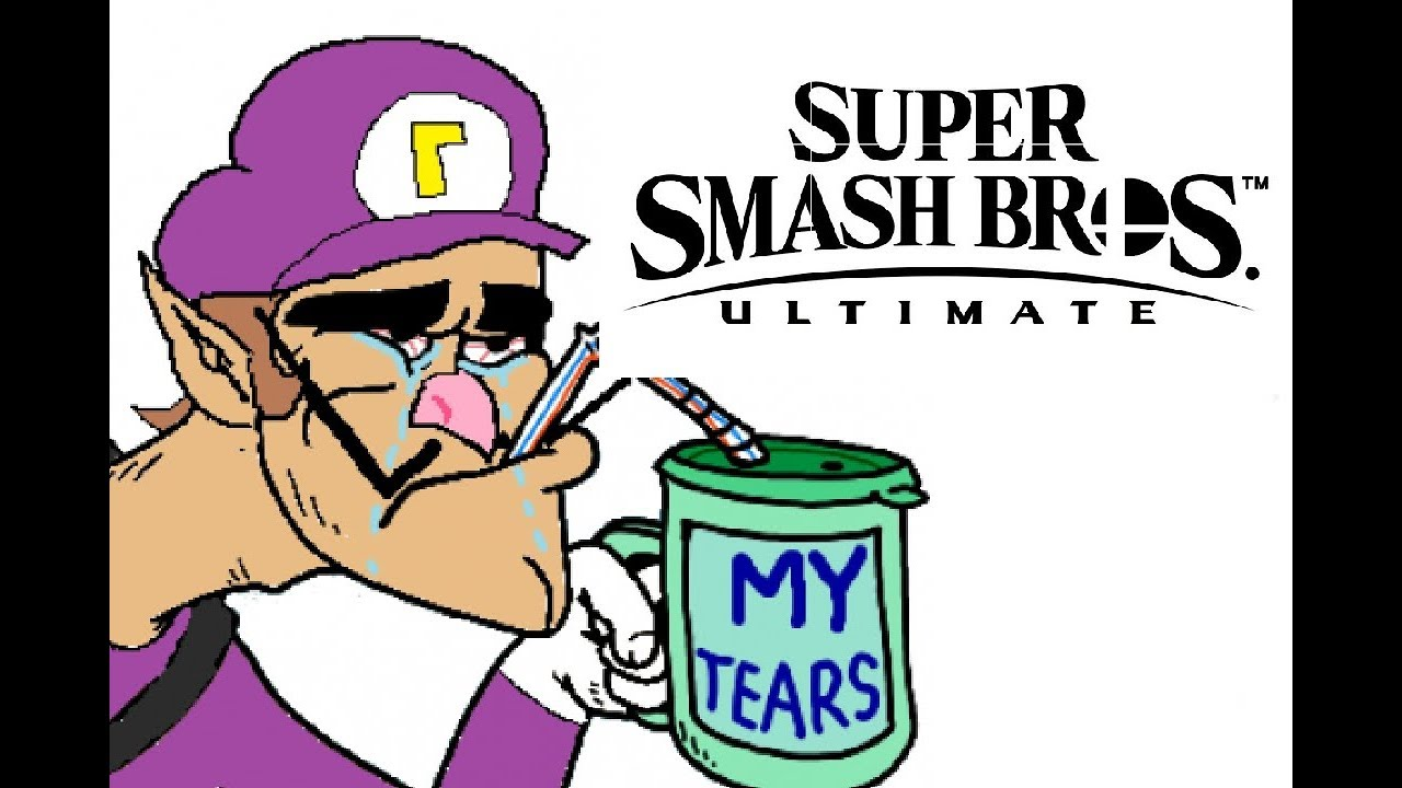Rest In Meme S Waluigi Super Smash Brothers Ultimate