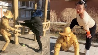 Street Troll - Must Watch New Funny😂 😂 Part 32 - Can't stop laughing【Laugh torn mouth】