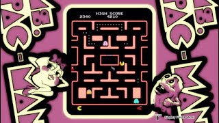 Namco Arcade Classics on PS4 - Pac-Man - Ms. Pac-Man - Galaga