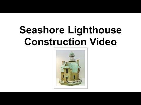 Part 1 - Preparation & Windows (Construction Seashore Lighthouse)
