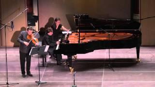 Schumann Violin Sonata 1/3 Rysanov Katsnelson