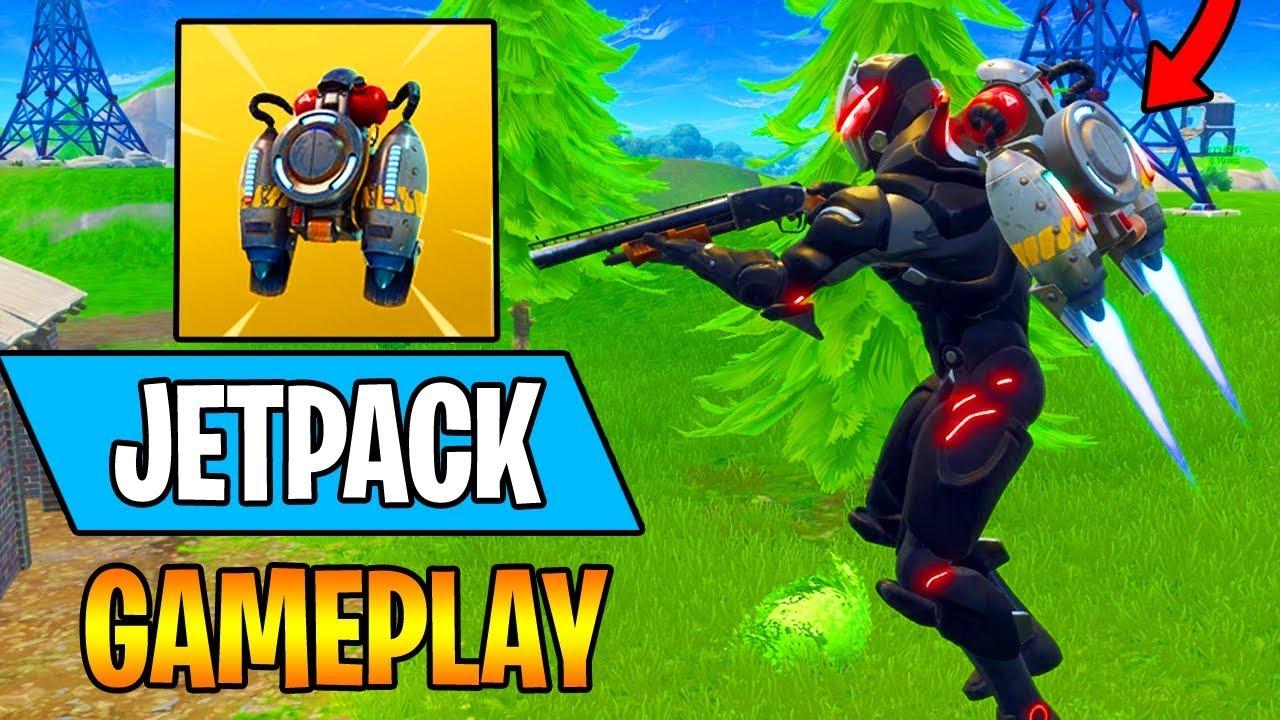 New Jetpack Is Op New Fortnite Update 15 Kill Insane Gameplay
