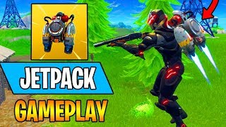 NEW JETPACK IS OP!!! - New Fortnite Update 15 Kill Insane Gameplay (Fortnite Battle Royale)