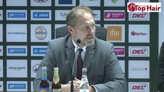 1878 TV | Pressekonferenz 08.12.2019 Augsburg - Iserlohn 1:0