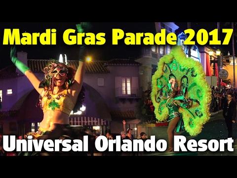 Mardi Gras Parade 2017 | Universal Studios Florida