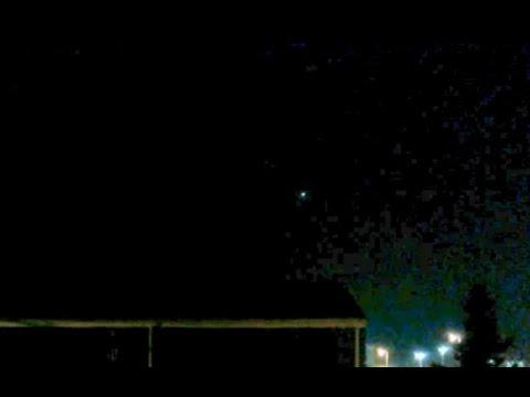 UFO Sighting with Glowing Light in Buffalo, New York - FindingUFO