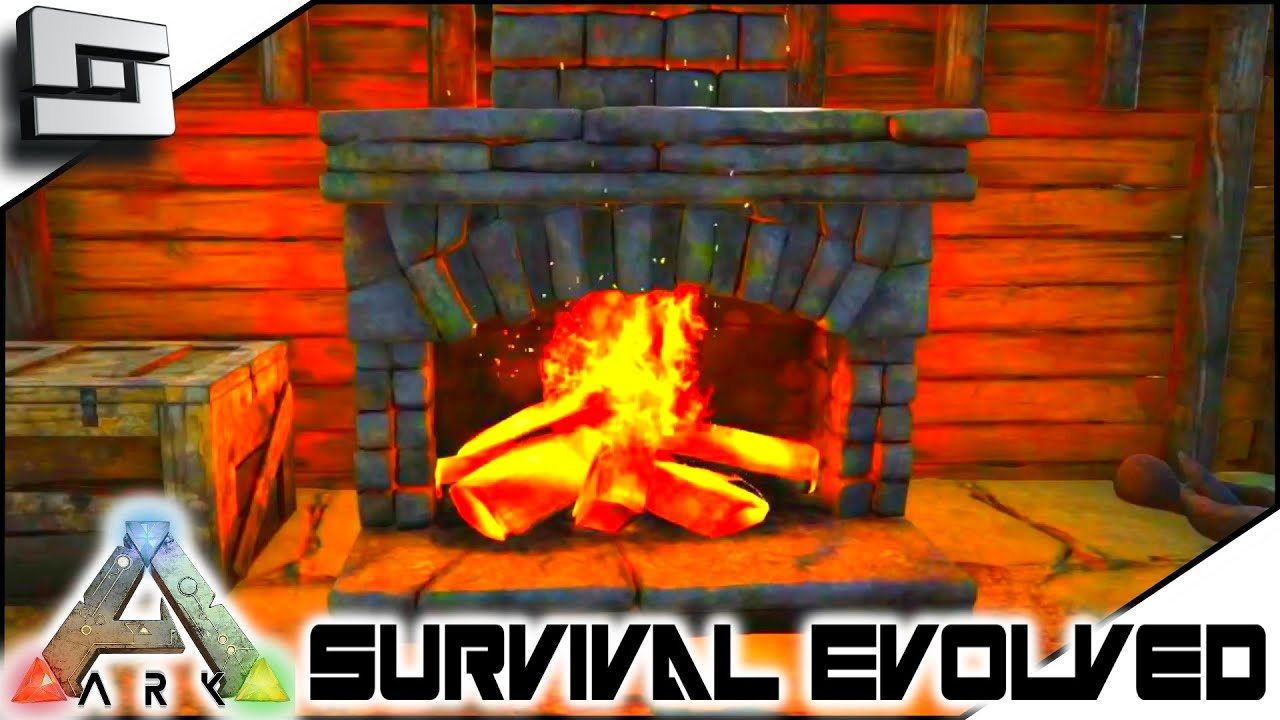 ark survival evolved fireplace and cages update s2e106