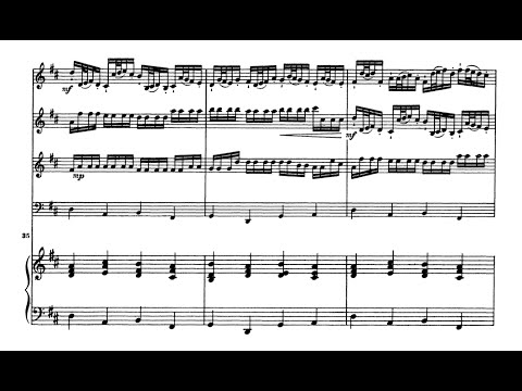 Canon in D Major (Sheet music + Audio) - Johann Pachelbel