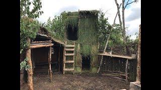 2 nights debris village camping and building