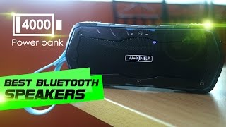 w-king S9 SPEAKERS WITH POWER BANK Review