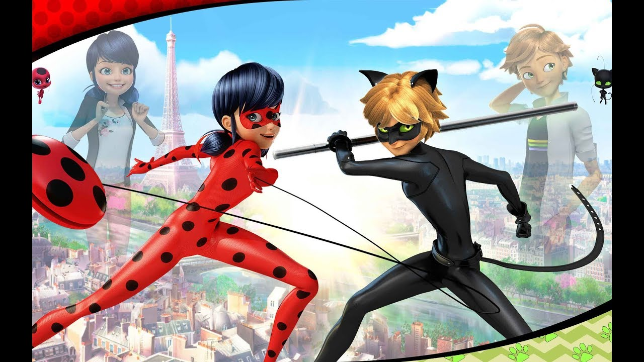 When a lady bug and a super cat find out who is who in which series