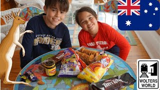 The Boys Try Australian Candy (and Vegemite)