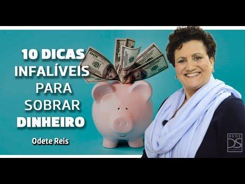 Odete Reis - Tema: 10 dicas infalíveis para sobrar dinheiro