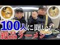 北海道民100人のおすすめラーメン屋ランキング!【旅#14】