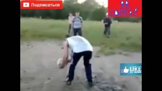 Сборная России по футболу - чемпионская игра. Прикол.