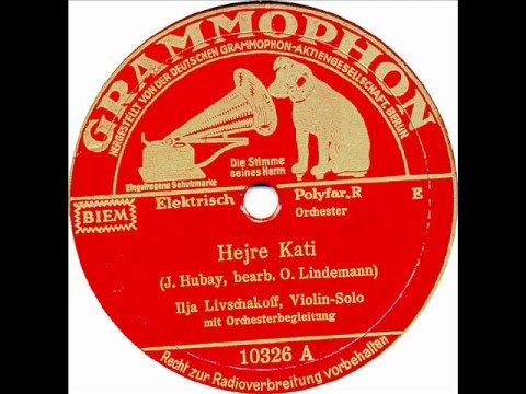 Jenö Hubay: Hejre Kati (Ilja Livschakoff, 1935)