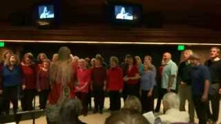 Love is the Seventh Wave performed by the Free Range Singers