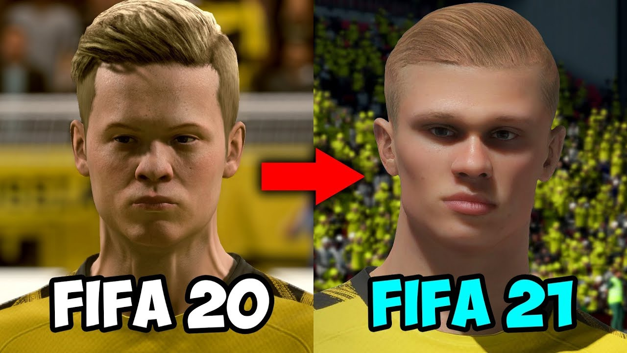 Top 10 New Fifa 21 Player Faces Haaland Firmino Messi Youtube