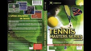 Tennis Masters Series 2003 (Xbox)