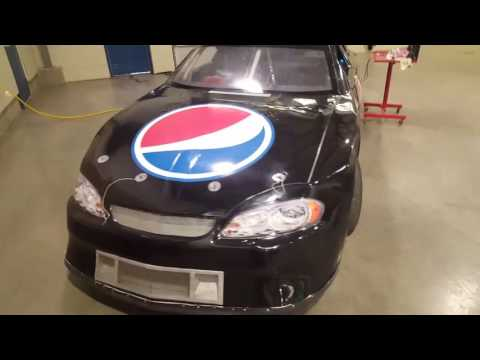 Nascar simulator Spokane washington autoshow.
