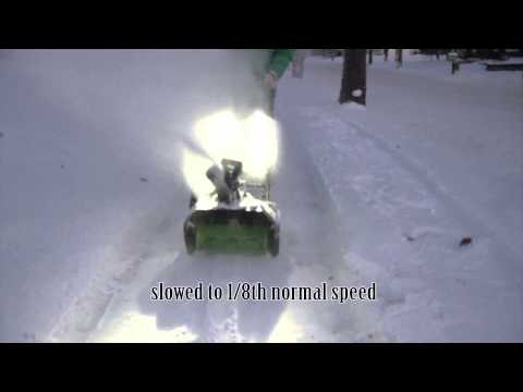 how to fix snow thrower wet snow closing