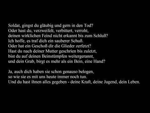 Es ist an der Zeit von Hannes Wader (mit text)