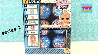 LOL Surprise Boys Series 2 Full Box Doll Opening Part 1 Review | PSToyReviews