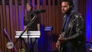 "Twin Shadow performing ""Turn Me Up"" Live on KCRW"
