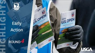 2019 U.S. Open, Round 4: Early Highlights