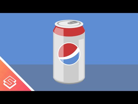 Inkscape Tutorial: Vector Soda Can