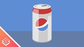 Inkscape Tutorial: Vector Soda Can