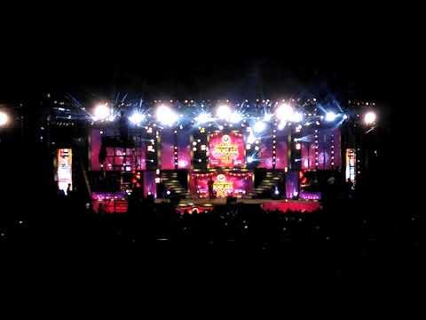 Anushree & Ravichandran Comedy in Karunada Sambrama live at that place