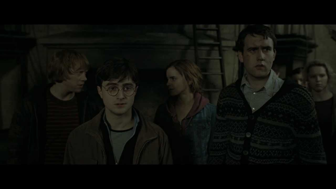 Download Harry Potter and the Deathly Hallows - Part 2 (Back to Hogwarts Scene - HD)