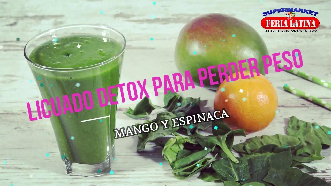 Recetas Feria Latina Licuado Detox - YouTube