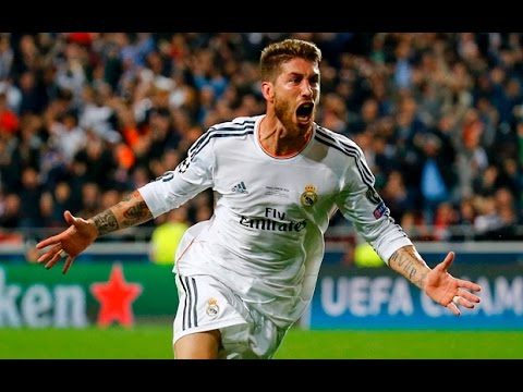 Sergio Ramos - 3 Finals win in 90+ Goal (Highlights) HD