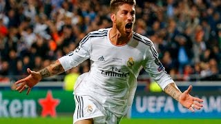 Sergio Ramos - 3 Finals win in 90 Goal Highlights HD