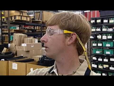 Electromechanical Engineer Works in the Field