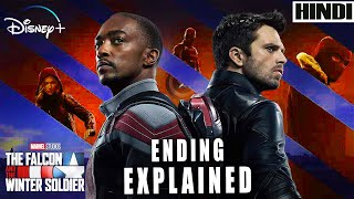 The Falcon and the Winter Soldier 2021 Explained in HINDI | MARVEL | Ending Explained |