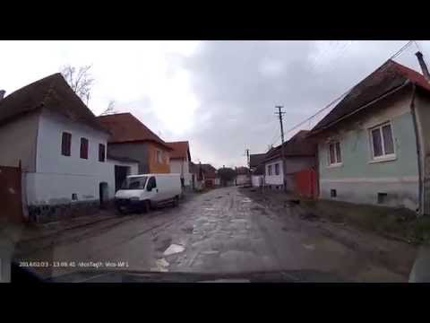 Romanian roads * DJ131A Băile Homorod - Mărtiniș - Sânpaul * 2014.02.23
