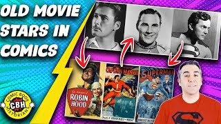 Ep.27+28. (Full Video)The Influence of Old Movie Stars on the Comic Book Golden Age by Alex Grand