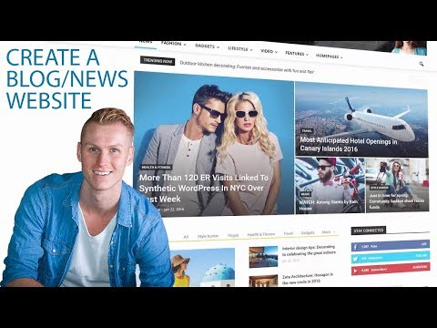 How To Create A Blog Website | Wordpress Tutorial