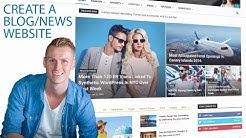 How To Create A Blog Website | WordPress Tutorial