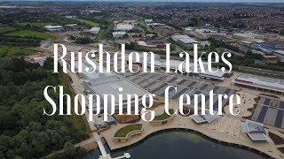 Rushden Lakes Shopping Centre in Northants, UK