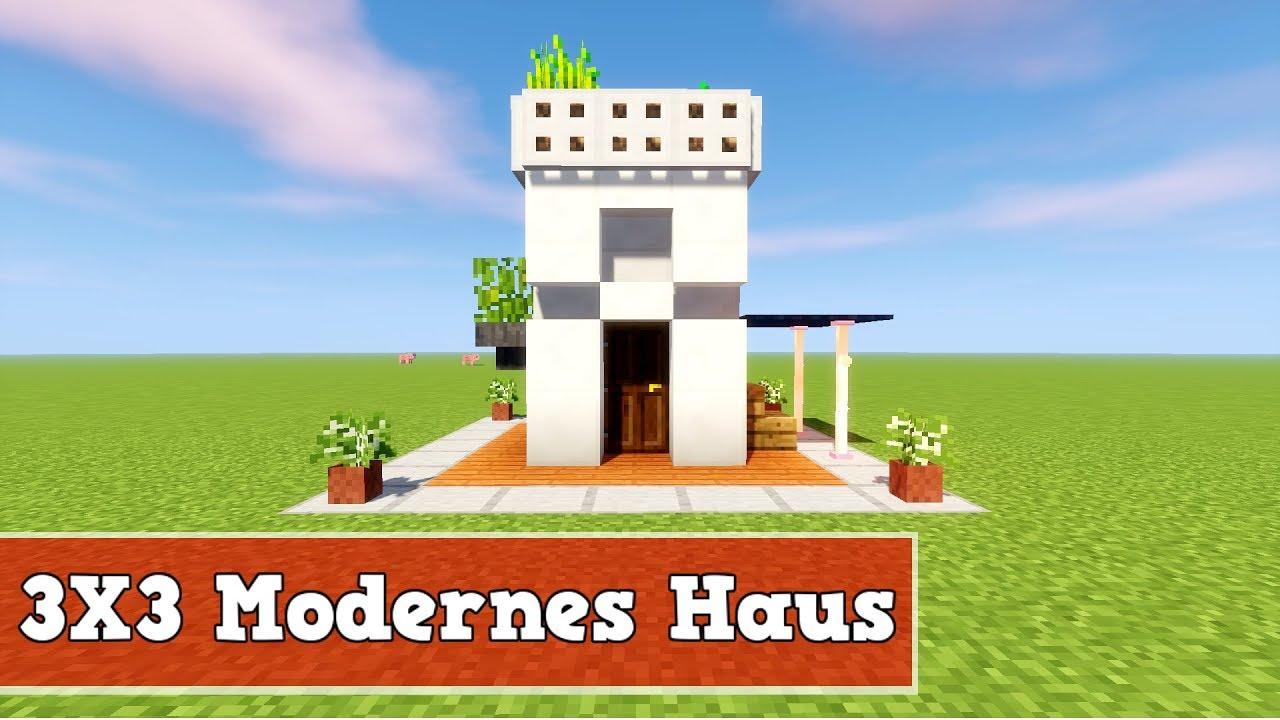 wie baut man ein kleines modernes haus in minecraft minecraft modernes haus bauen deutsch. Black Bedroom Furniture Sets. Home Design Ideas