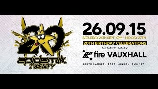 Cyber & Giggly - Epidemik 20th Birthday Bash -UK Hardcore Set