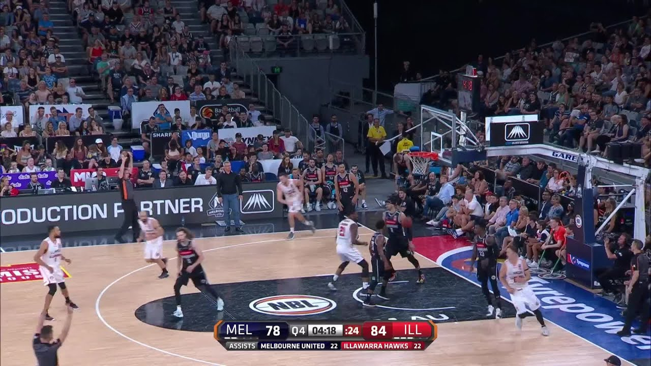 626b31f9ac Nicholas Kay with 27 Points vs. Melbourne United - YouTube