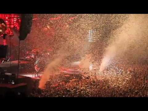 Craziest moments of Rammstein in Spain