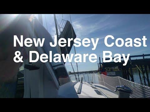 Sailing the New Jersey Coast and Delaware Bay! (Sailing SV Catsaway) - Ep. 18