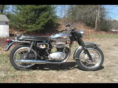 68 BSA ThunderBolt 650 8K Original Miles Unrestored